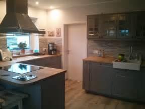 küche faktum küchenschrank ikea grau wotzc