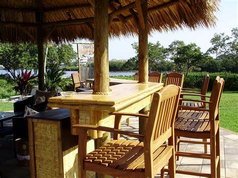 Buy Tiki Hut - 20 permanent tiki hut gazebo style with a palm thatch