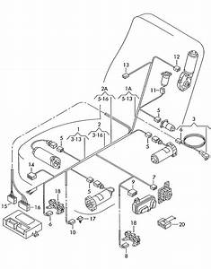 Volkswagen Jetta Adapter Harness For Side Seat Airbag