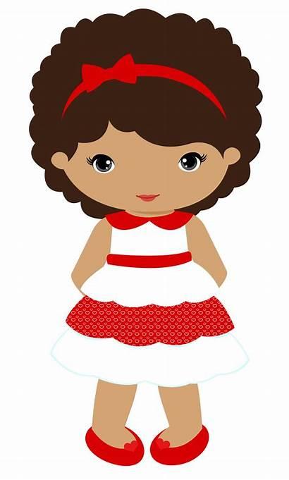 Doll Clipart Clip Barbie Cartoon Minus Dolls