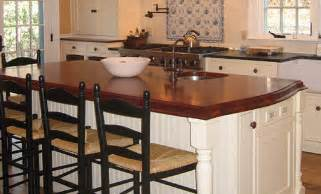 countertop for kitchen island mahogany wood countertop kitchen island in massachusetts