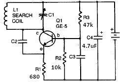 What Rough Drawing Metal Detector Circuit Quora