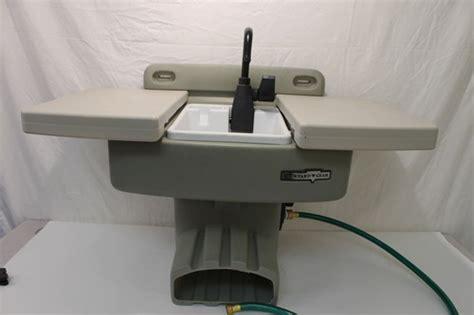 Water Station Plus Outdoor Sink Backyard Gear  What's It
