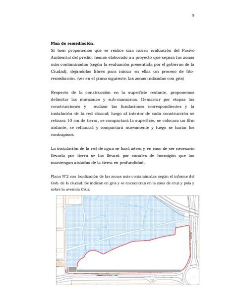 bred si鑒e social escrito de propuesta de urbanización para la jueza versión