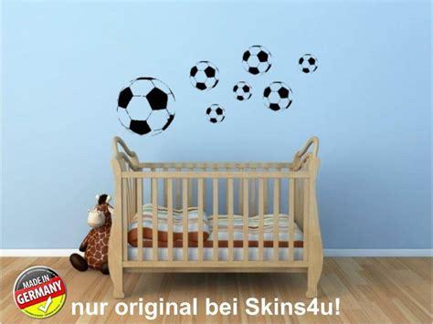 Wandtattoo Kinderzimmer Fussball by Wandtattoo Fussball Set Kinderzimmer Aufkleber
