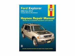 Haynes Repair Manual 2002 Ford Explorer