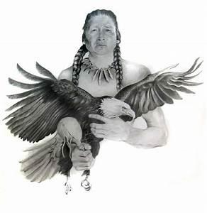Indian Eagle pencil portrait by Kerry | Pencil portrait ...