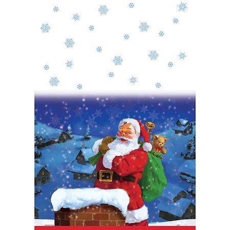 Tisch Eindecken Weihnachten by Unique 47803 Santa Table Cover Walmart
