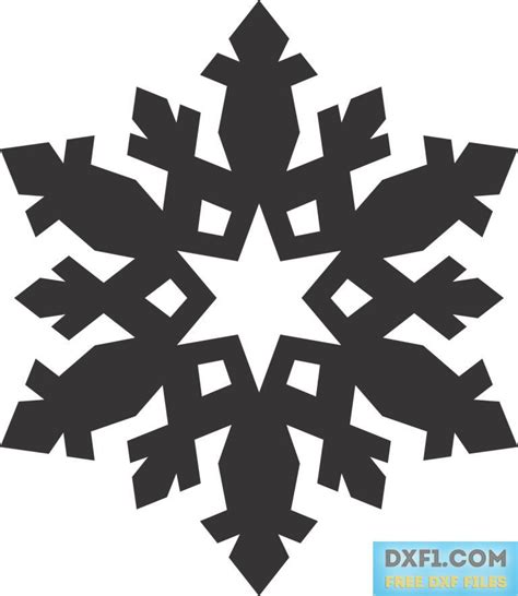 Cetakan Salju Frozen Stencil snowflakes free dxf files free cad software dxf1