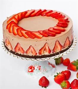 Strawberry Nutella Cheesecake Tatyanas Everyday Food