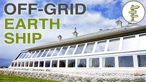 Super Efficient Off-grid Earthship Built For Early