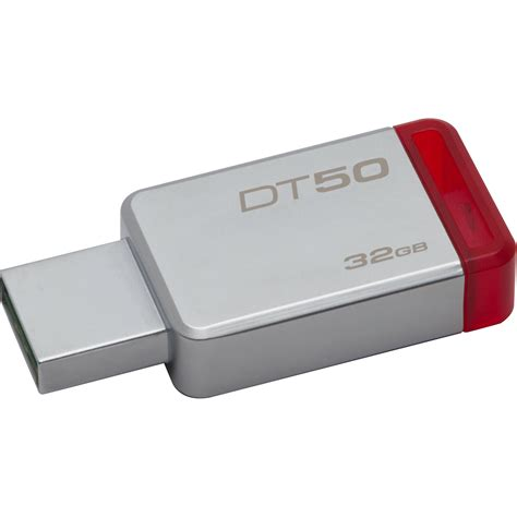 Kingston 32GB Datatraveler DT50 USB 3.0 Flash Drive DT50/32GB