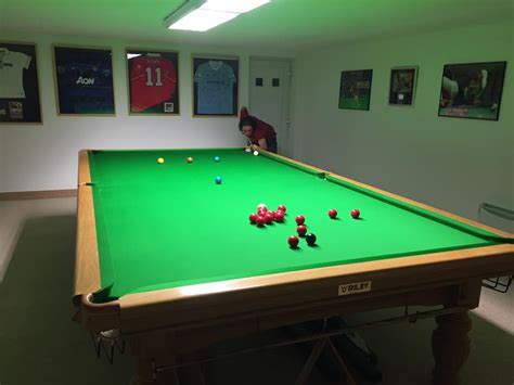 tabletop pool table full size re install full size snooker table after flooding in