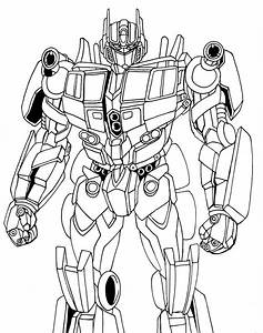 Optimus Prime movie lineart by nakoshinobi on DeviantArt