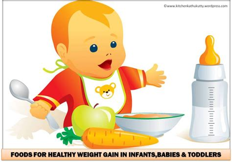 Foods For Healthy Weight Gain In Infantsbabies Toddlers