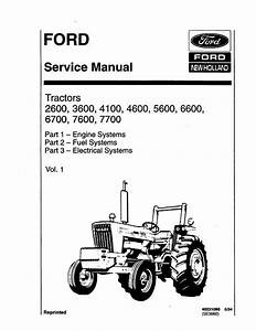 Ford 4600 Tractor Wiring Harness Embly