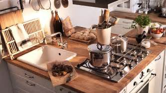 smart space small country kitchen ikea