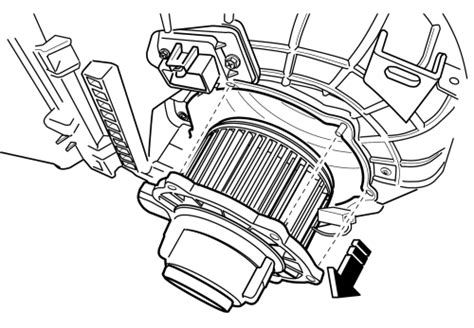 2008 land rover lr2 fan repair guides blower motor removal installation