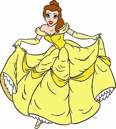 Belle Disney Princess Clipart Clip Cliparts Fanpop