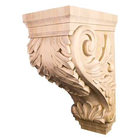 Acanthus Traditional Corbel CORBB 24. Free Shipping Available.
