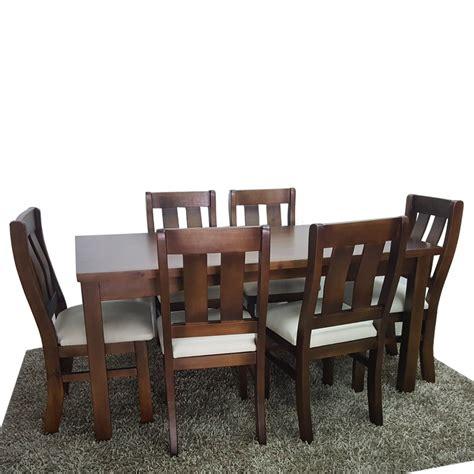 mesa  sillas  cocina  comedor muebles en madera