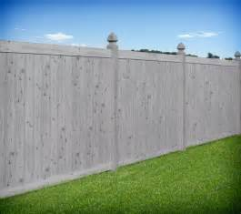 Houzz Living Rooms Traditional by Gray Wood Grain Pvc Vinyl Privacy Fence By Illusions Vinyl
