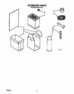 Accessory Diagram  U0026 Parts List For Model Kucc151v1