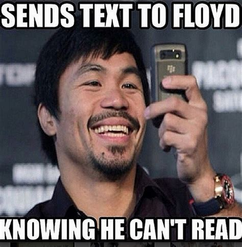 Manny Pacquiao Meme - jerry jones sends manny pacquiao handwritten letter of support larry brown sports