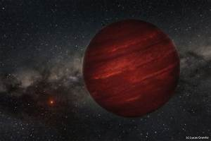Odd planet, so far from its star: Gas giant 155 light ...