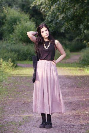 Light Pink Street Style OASAP Skirts | u0026quot;grungeu0026quot; by nadjadhn | Chictopia
