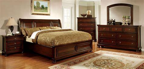 northville dark cherry bedroom set  furniture
