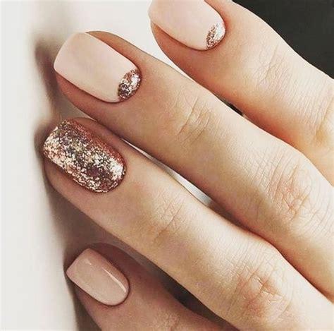 glitter manicure ideas  winter holidays styleoholic