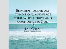 Patience And Trust Quotes QuotesGram