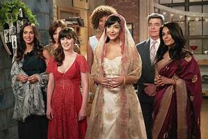 cece and schmidt marry on 39new girl39 wedding dress details With cece wedding dress