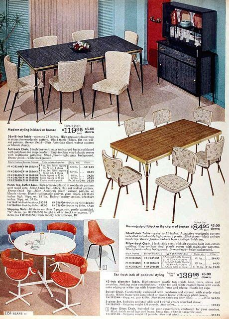 Sears Catalog furniture 1960   Sears 1960 Fall Catalog