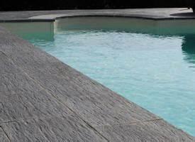 Margelle Piscine Grise : margelle de piscine et bassin en pierre bleue blanche ~ Melissatoandfro.com Idées de Décoration