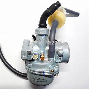 Motorcycle 19 Mm Carbs Keihin Carburetor Pz19 For 50