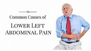 Causes Of Lower Left Abdominal Pain