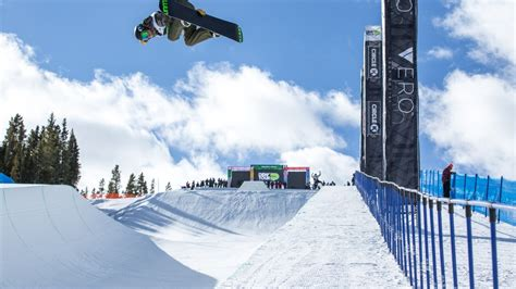 dew practice tour breckenridge snowboard taylor gold superpipe modified airborne aussie scotty flight taking james