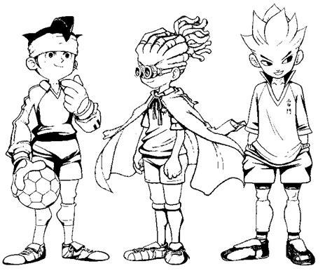 disegno da colorare inazuma eleven