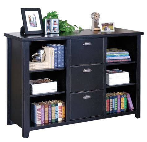 organizer with bookshelf martin furniture tribeca loft black library