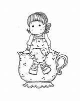 Magnolia Stamps Digi Doll Digital Coloring Pages Uploaded User Kline Brenda sketch template