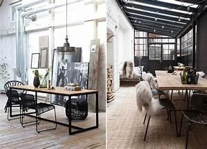 Interieur Style Industriel : avoir une decoration avec plus de charme grace une touche de style industriel mademoiselle ~ Melissatoandfro.com Idées de Décoration