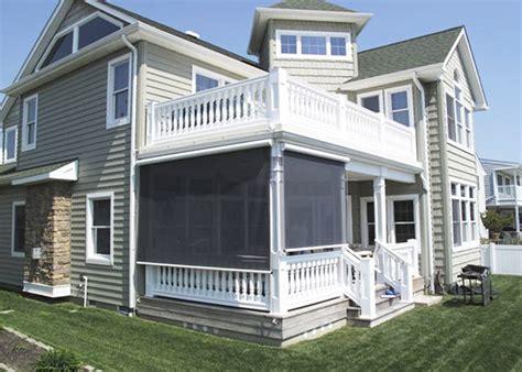 exterior solar shades porch home ideas collection tips
