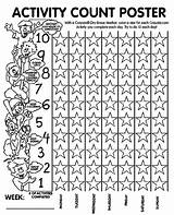 Count Activity Coloring Poster Pages Crayola Calendar Diversity Canadian Diagram Wiring sketch template