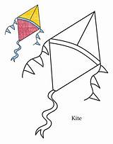 Kite Coloring Diamond Kites Clipart Shapes Preschool Drawing Objects Level Colouring Printable Cliparts Clipartpanda Panda Clipartmag Clip Getdrawings sketch template