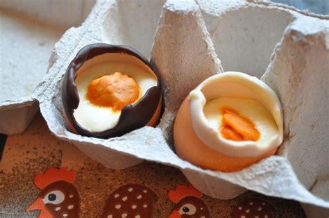 dessert avec chocolat de paques dessert de p 226 ques mousses en coquille d oeuf cuisine avec du chocolat ou thermomix mais