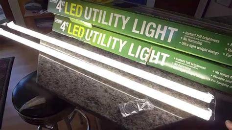 4' LED utility tube lights for indirect kitchen cabinet