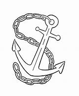 Anchor Chain Coloring Navy Drawing Pages Drawings Colouring Designlooter Tied Sketch 66kb 734px Getdrawings Paintingvalley Template sketch template