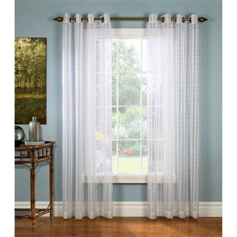 sheer curtains privacy floating